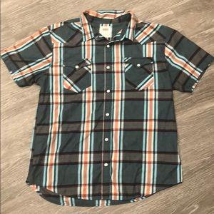 Men's Levi's Plaid Button-Up